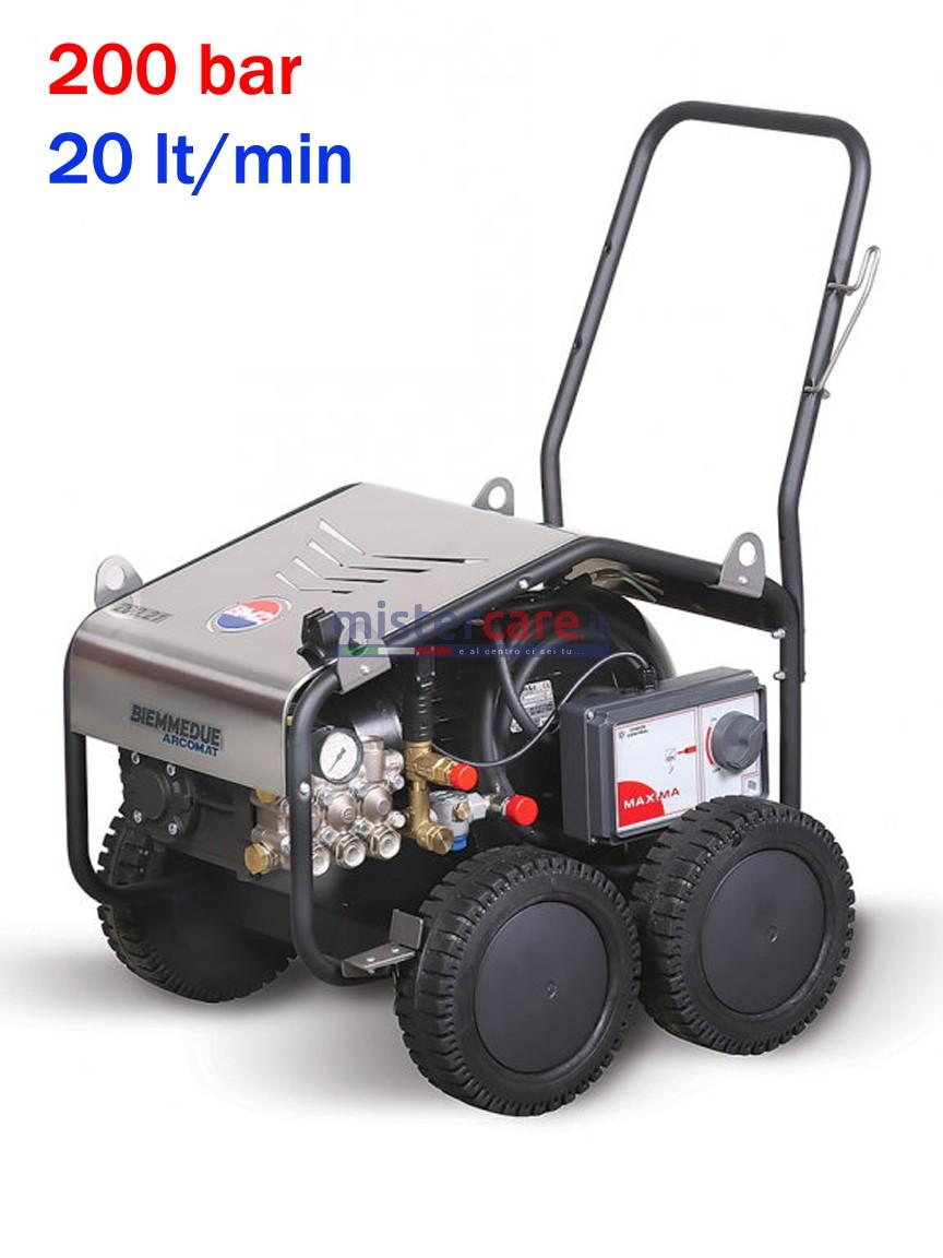 BM2 Maxima 200/20 - Idropulitrice ad acqua fredda (200 Bar - 21 lt/min)