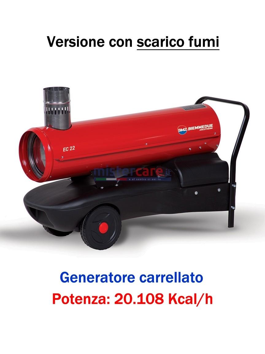 BM2 - EC22 - Generatore d'aria calda a combustione indiretta - 20.108 kcal/h