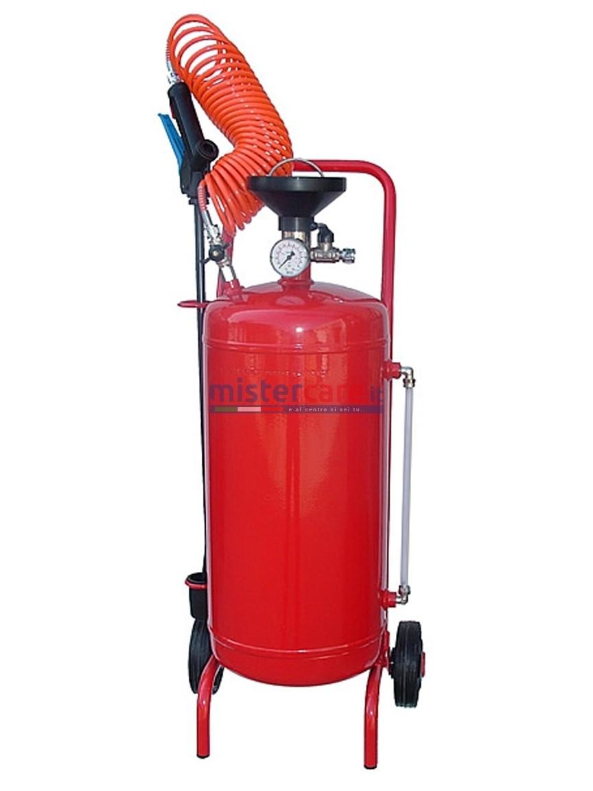 Procar NDE/24 - Nebulizzatore acciaio verniciato da 24 litri completo di accessori (funzionamento pneumatico)