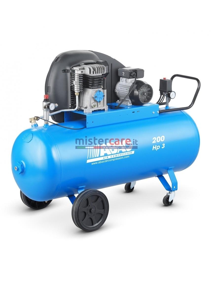 Abac A29B 200 CM3 - Compressore monostadio cinghiato (320 lt/min)