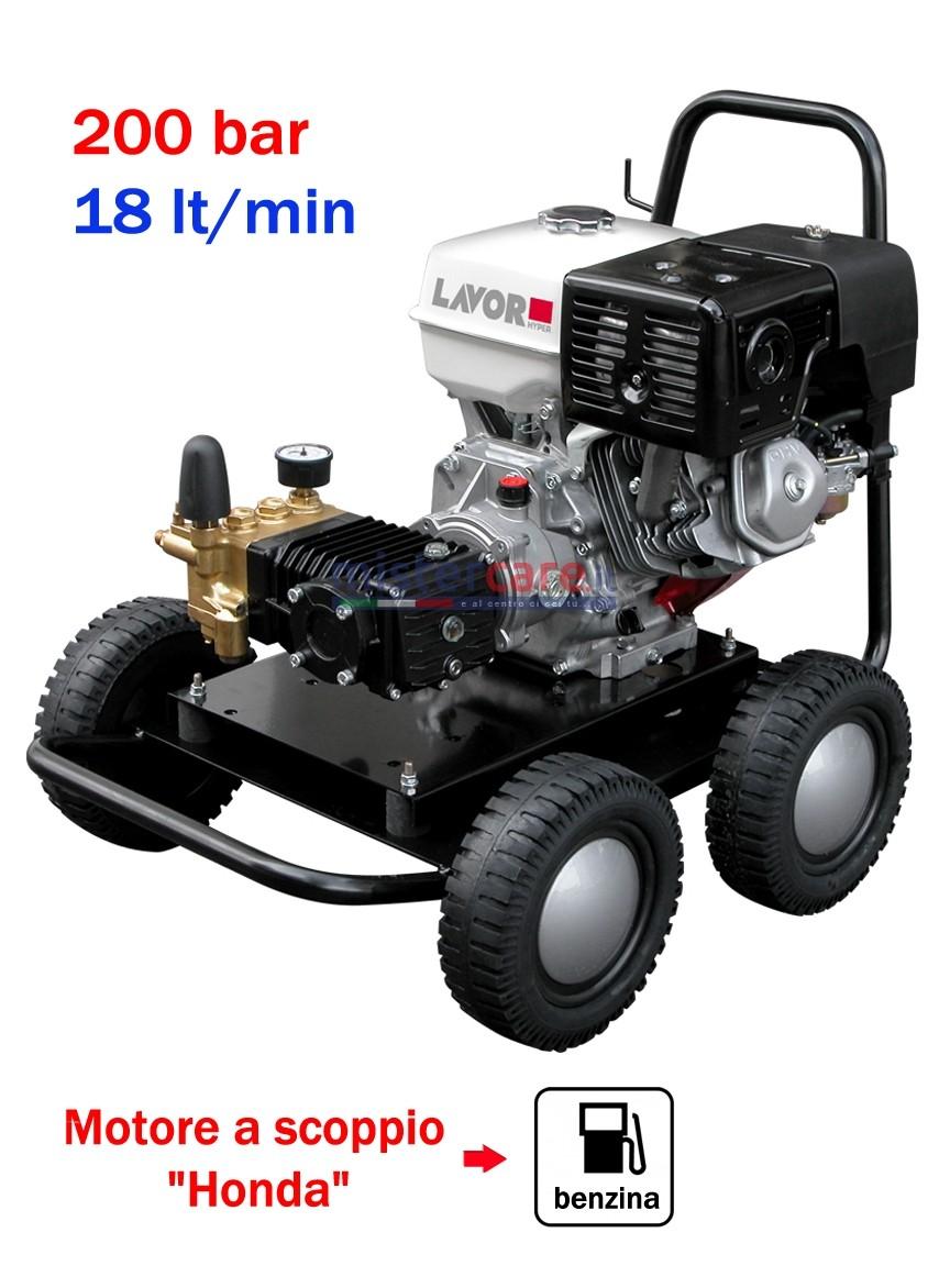 Lavor Thermic 11 H - Idropulitrice ad acqua fredda (200 Bar - 18 lt/min) con motore a scoppio (benzina)