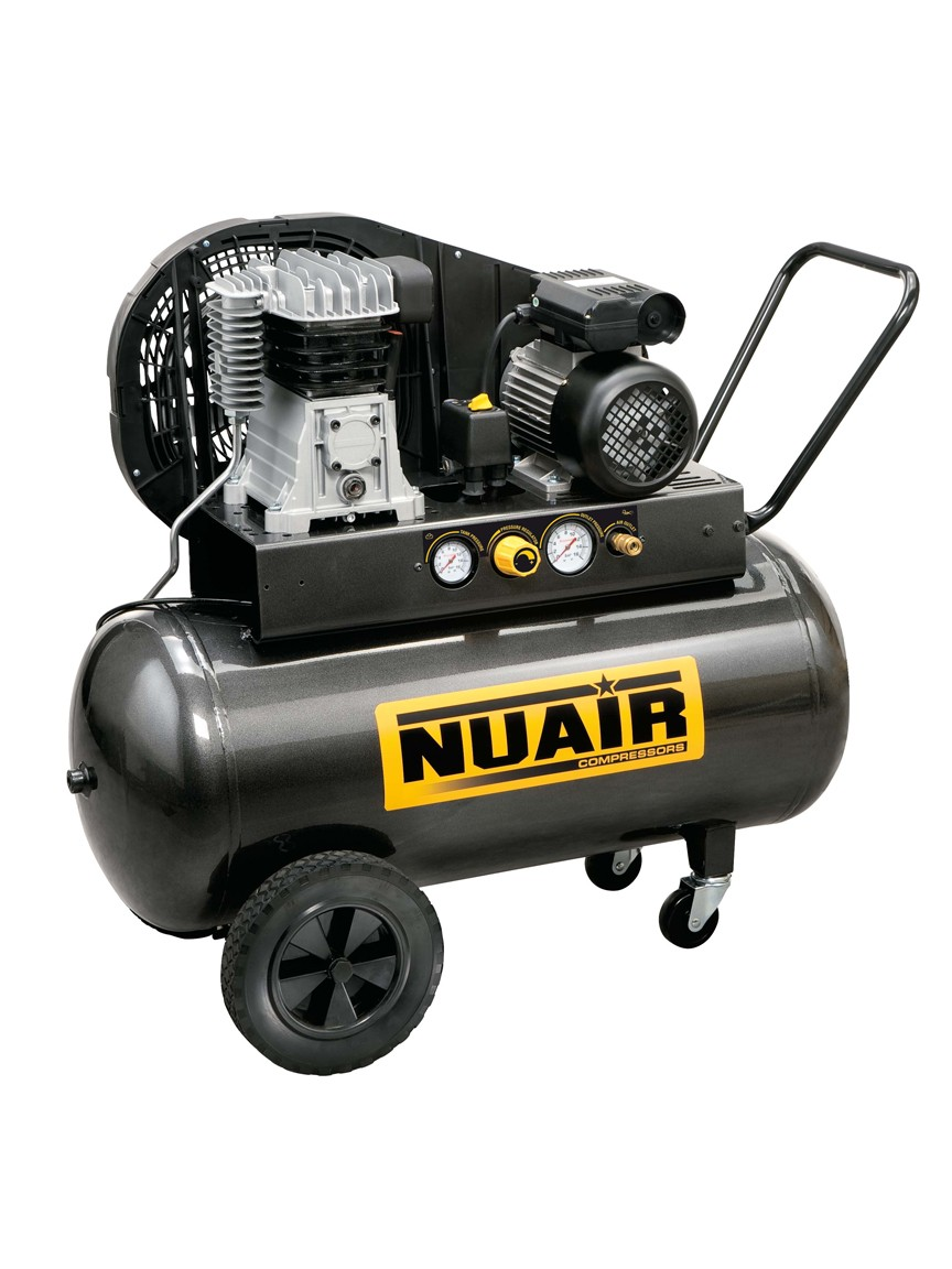 Nuair B2800B / 2M / 100 TECH - Compressore bicilindrico monofase (230 V)