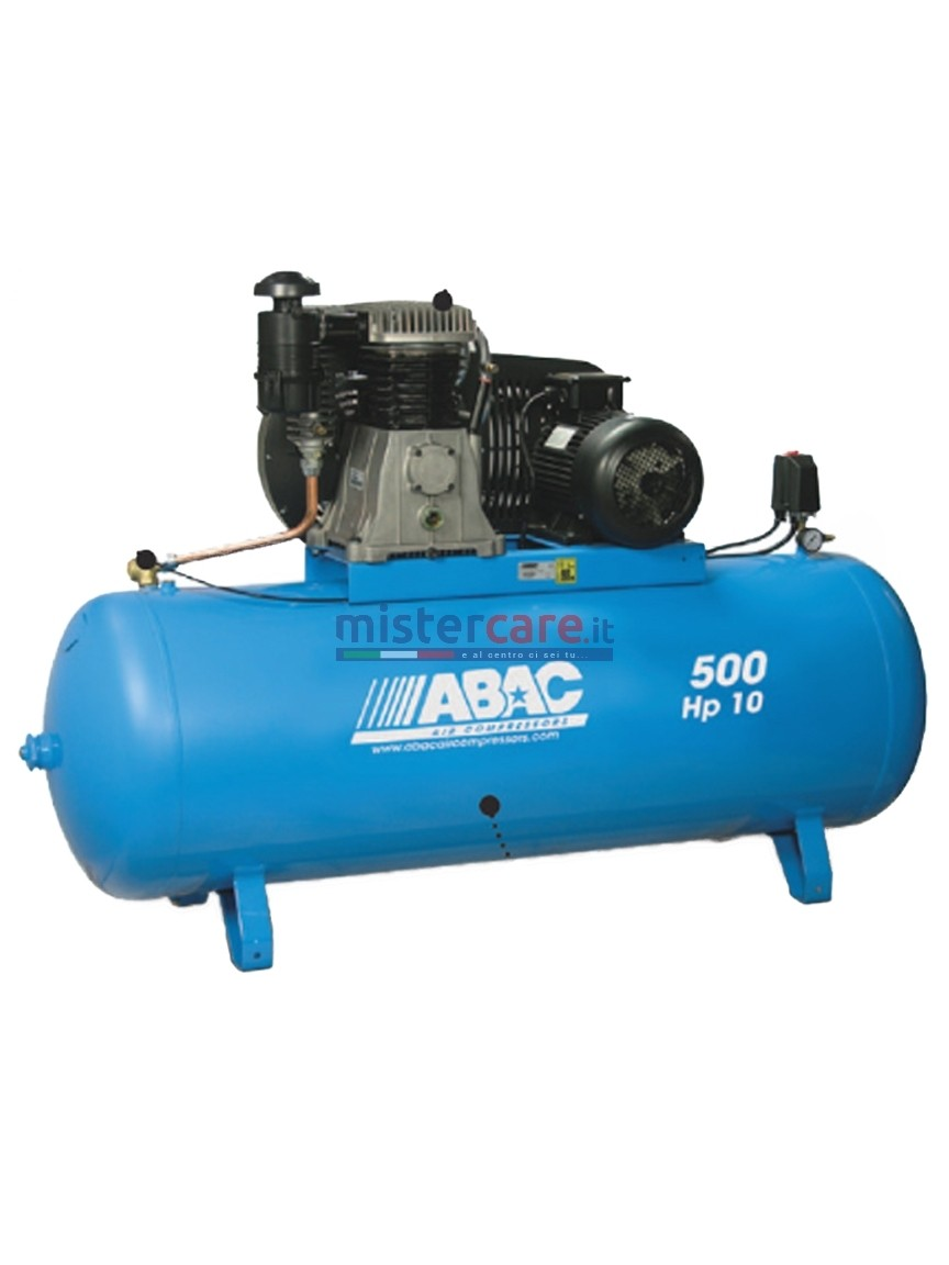 Abac Pro B7000 500 FT10 - Compressore a due stadi (930 lt/min)