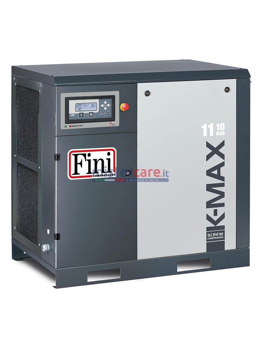 Fini K-MAX 11-10 VS - Compressore rotativo a vite a trasmissione diretta senza ingranaggi (11 kW - 10 Bar)