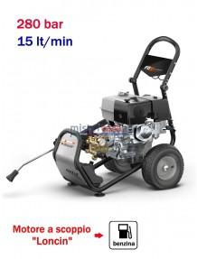 Comet FDX Blade XL Pro 13.15 - Idropulitrice ad acqua fredda (280 Bar - 15 lt/min) con motore benzina