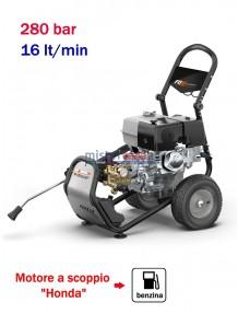 Comet FDX Blade XL Pro 13.16 - Idropulitrice ad acqua fredda (280 Bar - 16 lt/min) con motore benzina