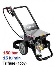 Lavor Hyper CR 1515 LP - Idropulitrice ad acqua fredda super-professionale (150 bar - 15 lt/min)