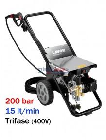 Lavor Hyper CR 2015 LP - Idropulitrice ad acqua fredda super-professionale (200 bar - 15 lt/min)