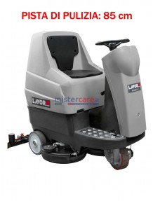Lavor Comfort XS-R 85 Essential - Lavasciuga pavimenti batteria 24V, pista di pulizia 85 cm (trazionata)