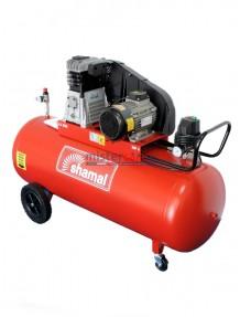 Shamal SB38C/200 CT4 - Compressore bicilindrico, cinghiato (480 litri/min)