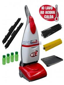 """Lavor Crystal Clean - Lavasciuga pavimenti elettrica (230V) ad acqua calda 90° + 5 taniche di """"Tensio Free Sany"""""""