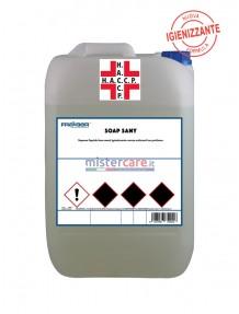 Fra-Ber Soap Sany - Sapone liquido lava mani igienizzante senza coloranti ne profumo (5 Kg)