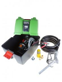 PiuSi Box 12V Basic - Kit travaso gasolio 45 litri minuto con accessori
