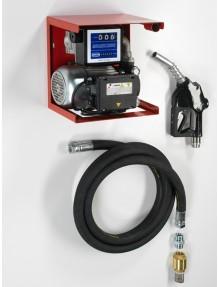 Flexbimec - Gruppo travaso gasolio 230V, 100litri minuto, pistola automatica, contalitri, tubo 4mt