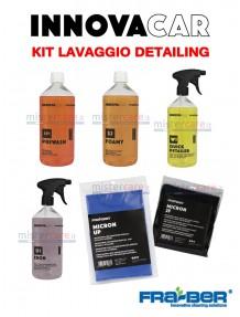 Fra-Ber - Kit prodotti PRELAVAGGIO auto detailing (INNOVACAR)