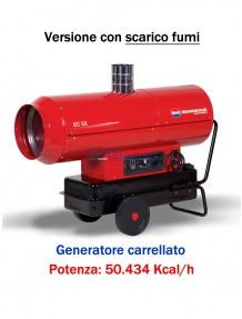 Generatore d'aria calda a combustione diretta (manuale) - 50.434 kcal/h