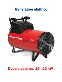 BM2 - EK 22 C - Generatore d'aria calda a corrente elettrica con termostato - 18.915 Kcal/h (15 / 22 kW)