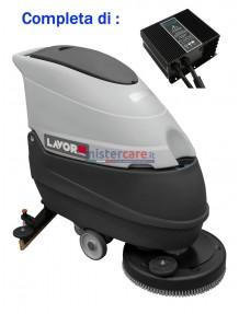 Lavor Hyper Free Evo 50 B - Lavasciuga pavimenti a batteria 24V (caricabatterie incluso)