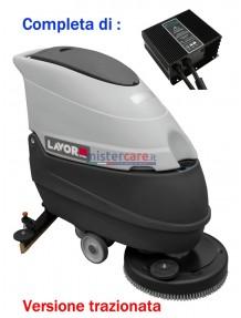 Lavor Hyper Free Evo 50 BT - Lavasciuga pavimenti a batteria 24V trazionata (caricabatterie incluso)