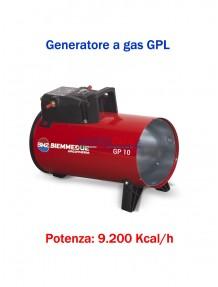 BM2 - GP10M - Generatore d'aria calda a combustione diretta (manuale) - 9.200 kcal/h