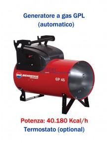BM2 GP45A - Generatore d'aria calda a combustione diretta (automatico) - 40.180 kcal/h