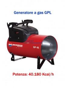 BM2 - GP45M - Generatore d'aria calda a combustione diretta (manuale) - 40.180 kcal/h