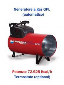 BM2 GP85A - Generatore D'aria Calda A Combustione Diretta (Automatico) - 72.925 Kcal/H