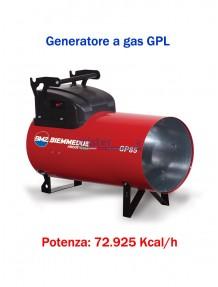BM2 - GP85M - Generatore d'aria calda a combustione diretta (manuale) - 72.925 kcal/h