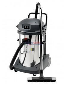 Lavor Domus IF - Aspiratore professionale polvere/liquidi a 2 motori (220 V) completo di accessori