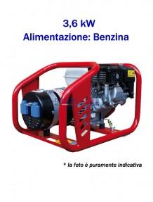 Tecnogen H5000 - Gruppo elettrogeno monofase a benzina (3,6 kW)