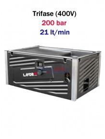Lavor Hyper MCHPV 2021 LP - Idropulitrice ad acqua fredda professionale modulare (200 bar - 21 lt/min)