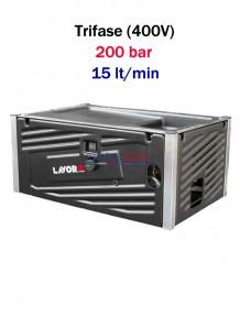 Lavor Hyper MCHPV 2015 LP - Idropulitrice ad acqua fredda professionale modulare (200 bar - 15 lt/min)