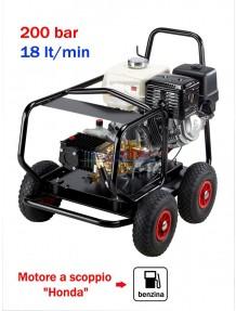 Lavor Thermic 11 HF - Idropulitrice ad acqua fredda (200 Bar - 18 lt/min) con motore a scoppio (benzina)