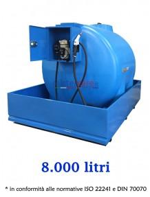 Demo - Serbatoio per gasolio (490 litri) con pompa manuale