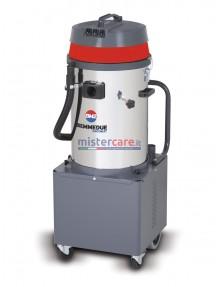 BM2 Q-BAT - Aspiratore professionale polvere/liquidi a batteria (1.200 W)