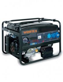Wortex LW 5000 E - Gruppo elettrogeno monofase (4,5 kW) AVR con motore a scoppio (benzina)