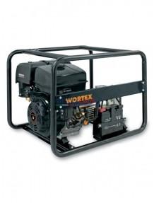 Wortex LWS 6500 3E - Gruppo elettrogeno trifase/monofase (4,8 kW - 2,8 kW) con motore a scoppio (benzina)