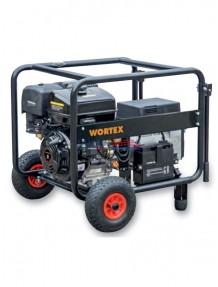 Wortex LWS 9000 3E AVR - Gruppo elettrogeno trifase/monofase (7,2 kW - 4 kW) AVR con motore a scoppio (benzina)