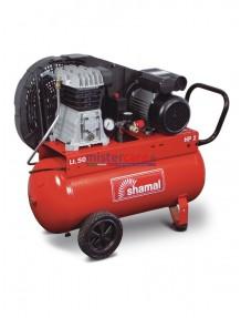 Shamal SB28/50 CM2 - Compressore a pistoni carrellato (1,5 kW - 2 Hp)