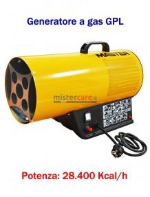 Master BLP 33M - Generatore d'aria calda a gas GPL (manuale) - 28.400 Kcal