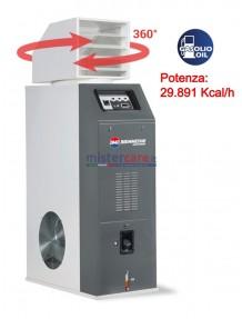 BM2 Confort 35 - Generatore d'aria calda a gasolio con termostato (29.891 Kcal/h)