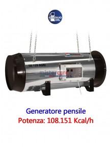 BM2 GE 125 AGRI - Generatore d'aria calda (pensile) a gasolio - 108.151 Kcal/h