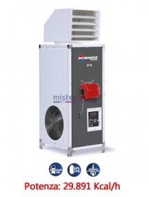 BM2 SP 35 - Generatore d'aria calda fisso industriale a combustione indiretta (alimentato a gasolio/metano/GPL) - 29.981 Kcal/h