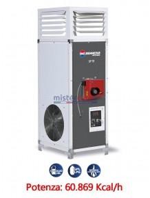 BM2 SP 70 - Generatore d'aria calda fisso industriale a combustione indiretta (alimentato a gasolio/metano/GPL) - 60.869 Kcal/h