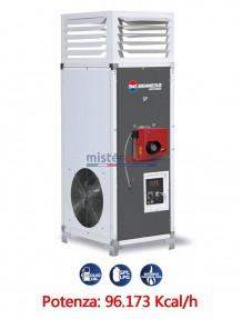 BM2 SP 110 - Generatore d'aria calda fisso industriale a combustione indiretta (alimentato a gasolio/metano/GPL) - 96.173 Kcal/h
