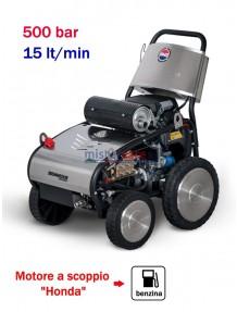 BM2 Magnum 500/15 4S - Idropulitrice ad acqua fredda (500 Bar - 15 lt/min) con motore a scoppio (benzina)