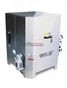 Geicos Washer 750 E - Lavapezzi in acciaio inox AISI 304 con lavaggio automatico e cestello rotativo (400V)