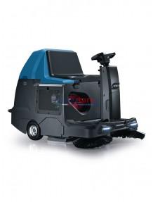 """Fimap FSR Hybrid - Spazzatrice con motore """"Honda"""" (benzina) e batteria (24V) per superfici sino a 4.500 m²/h (trazionata)"""