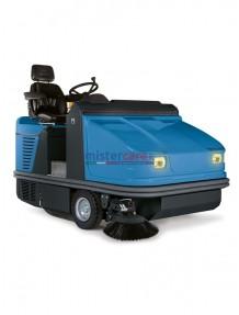 "Fimap FS120 D - Spazzatrice con motore ""Perkins"" (diesel) per superfici sino a 15.725 m²/h (trazionata)"