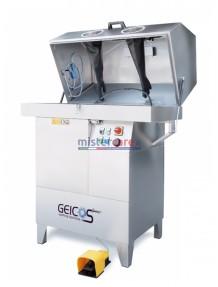 Geicos Eco High Pressure 110 - Lavapezzi in acciaio inox AISI 304 per lavaggio manuale ad alta pressione (230V)